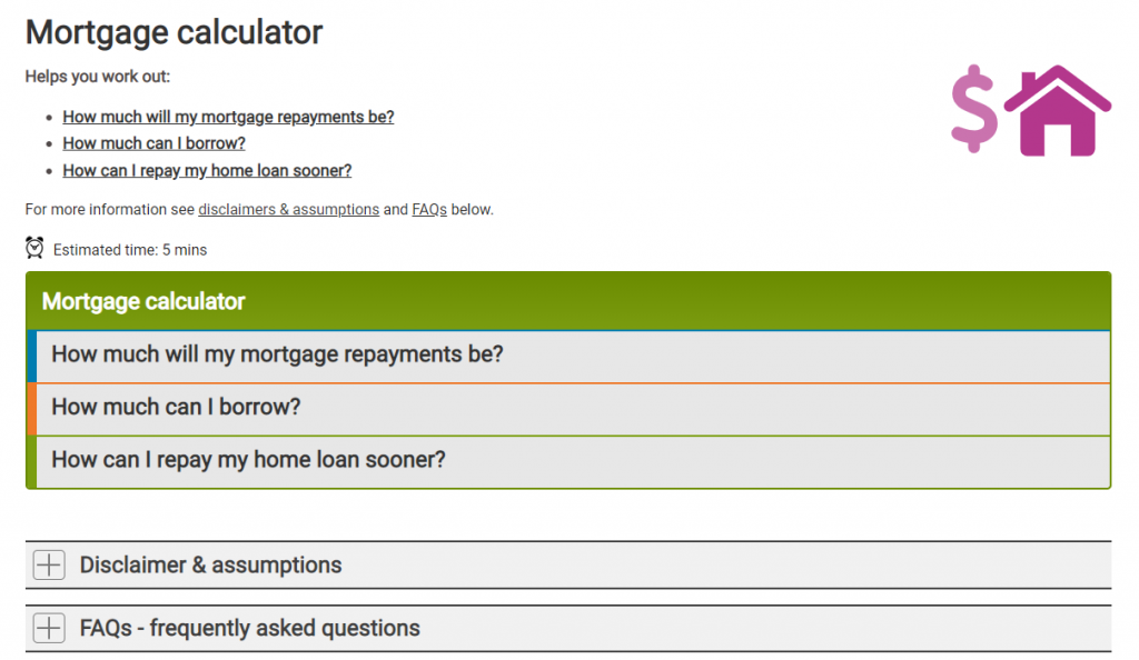 mortgage calculator home loan calculator