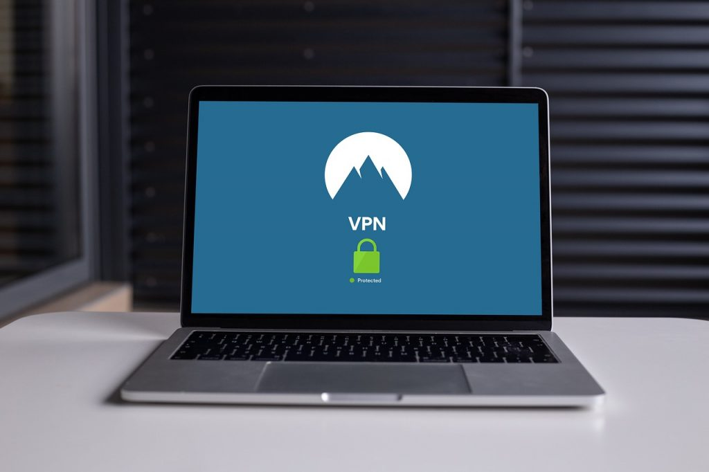 NordVPN laptop