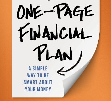 the one page financial plan carl richards