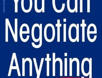 you can negotiate anything
