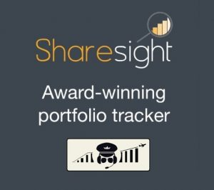 sharesight portfolio tracker