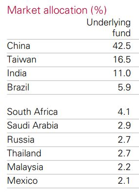 The market allocation of VGE is predominantly Asian countries, as you'll see in this VGE review